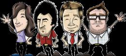 Unsere ursprünglichen Figuren aus dem Jahr 2013