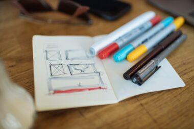Sketch Note Book of Karin Christen