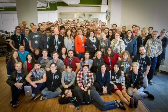WordPress Community Summit 2015 Group Picture