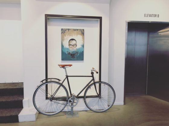 Bike at Hotel Sp34