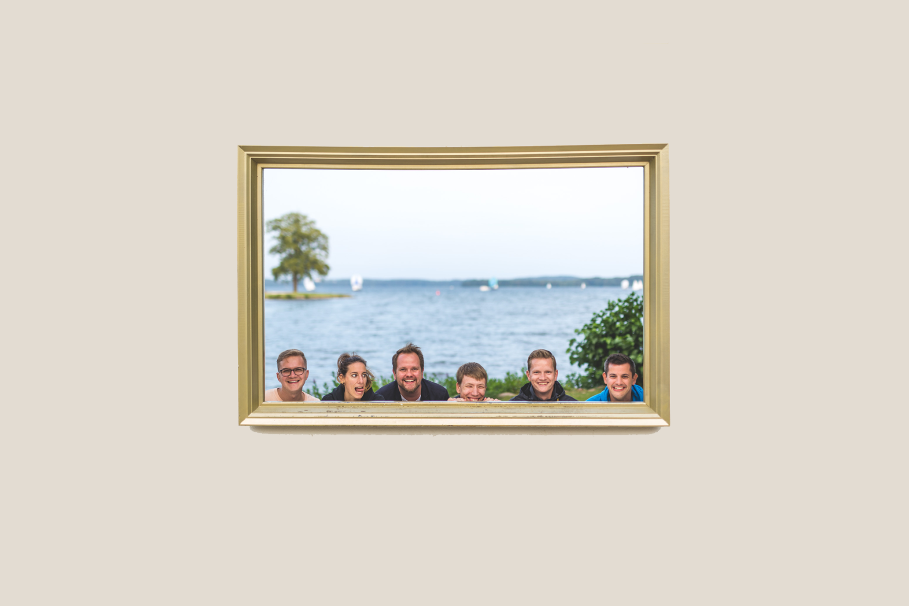 required Team in a Frame