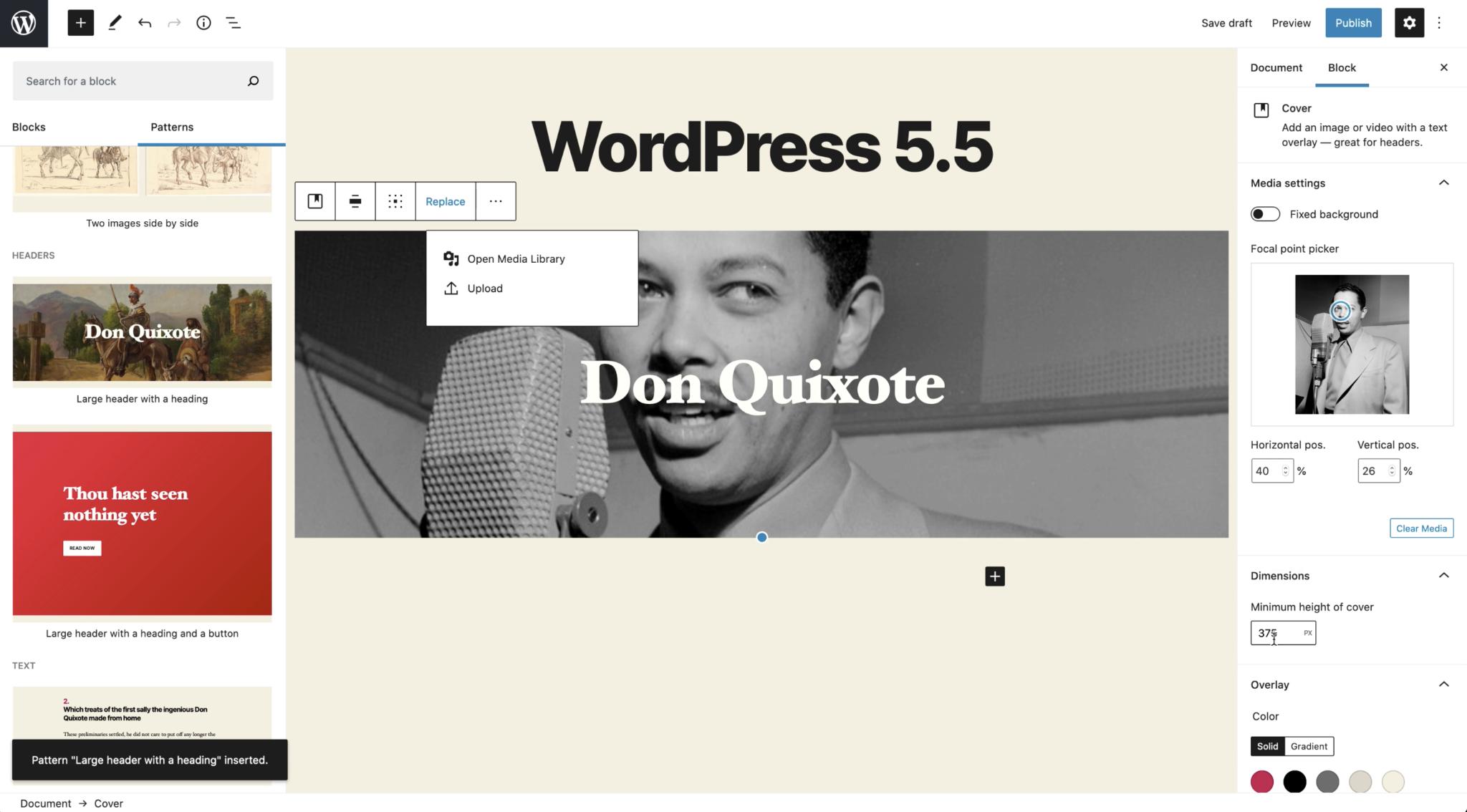 WordPress Patterns