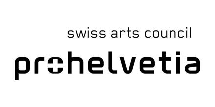 Pro Helvetia Swiss Arts Council Logo BW