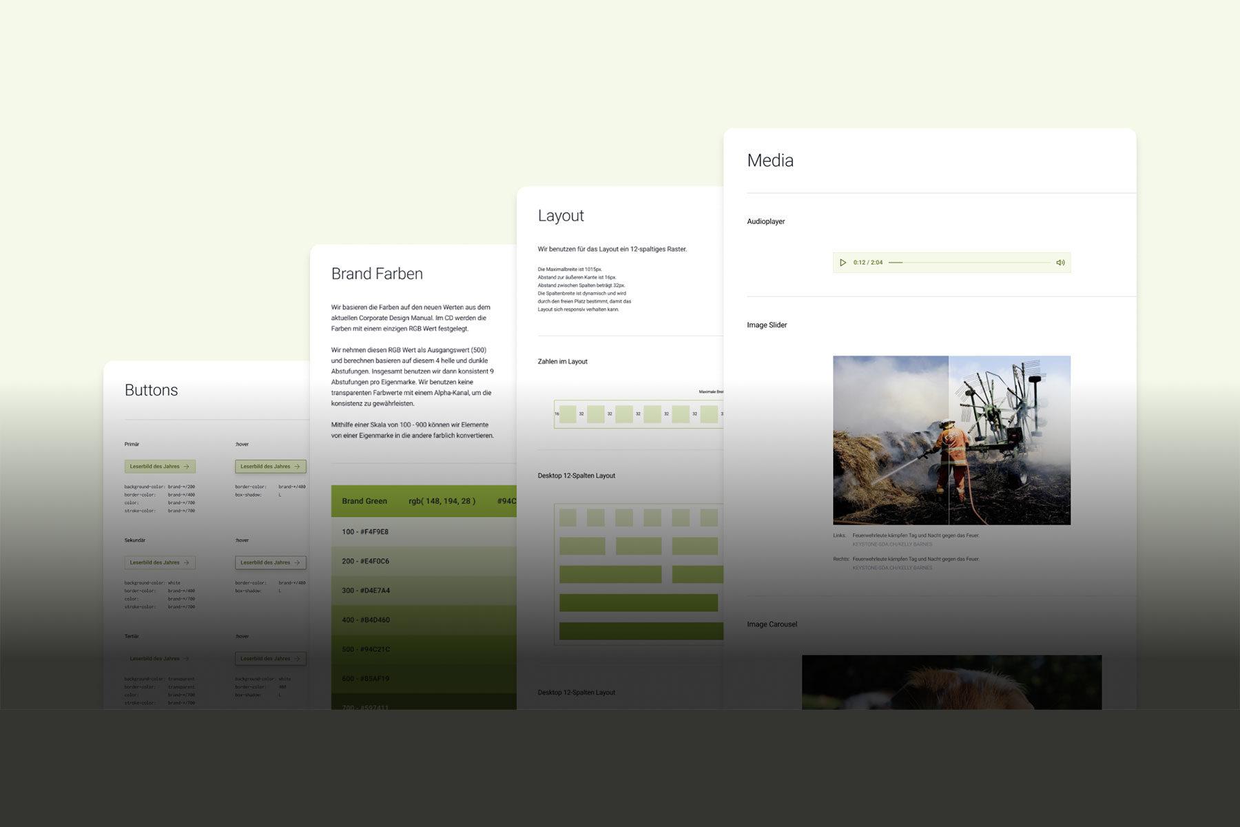 Cover Bild Design System